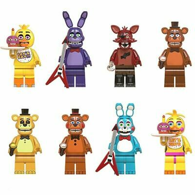 8Pcs Five Nights At Freddy's Minifigure Fit Lego FNAF Toy Kids Collection Gifts • 10.99£