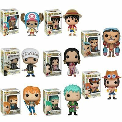 Funko Pop One Piece Luffy NAMI Ace Figure Anime Model Toys Kids Christmas Gift • 10.98£