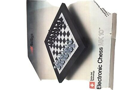 Vintage Chess Board Electronic • 20£