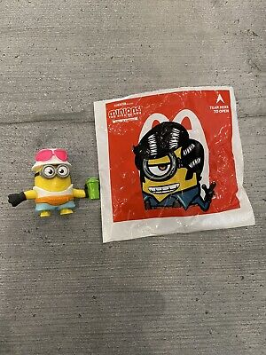 Minions The Rise Of Gru Mcdonalds Happy Meal Toy 2020 Figure Stickers • 0.99£