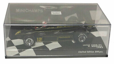 Minichamps Lotus Ford 91 1982 - Nigel Mansell 1/43 Scale • 70£