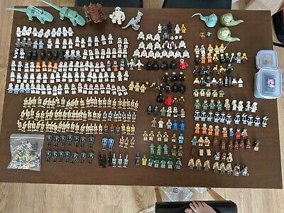 Large Collection Of Assorted Lego Star Wars Figures • 1,200£