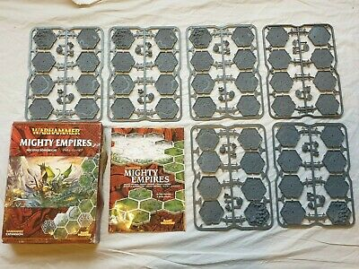 Games Workshop Warhammer Fantasy Mighty Empires Tiles On Spruces Boxed 80-03 * • 155£