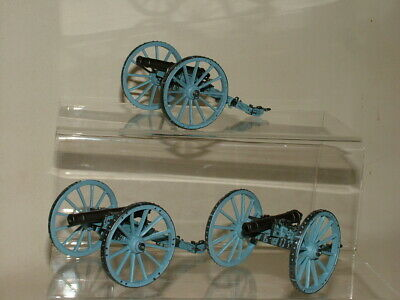 Del Prado Toy Soldiers British 1796 Light Six Pounder Gun X3  Bundle • 10.50£