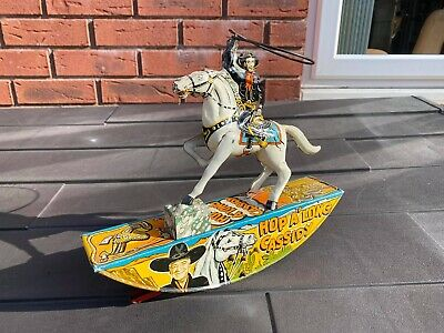 Antique Marx Toys Hop Along Cassidy Cowboy With Lasso - Fully Working & RARE • 184.95£