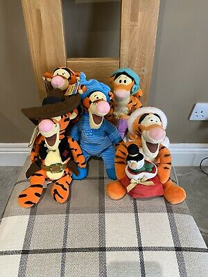 Disney Tigger Soft Toys (5 No With Tags). • 9.99£