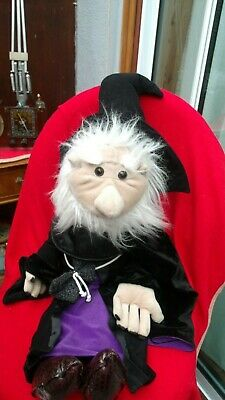 Large Wizard Puppet 34 Inch The Puppet Co Retired Story Telling Halloween Rare • 16£