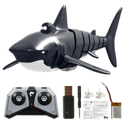 1: 18 2.4G Remote Control Simulation Shark Electronic Shark Fish RC Boat Prank W • 15.33£