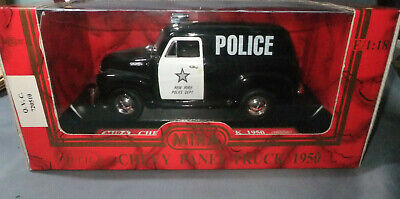Mira 1:18 Scale 1950 Chevy Panel Truck New York Police 06243  • 33£