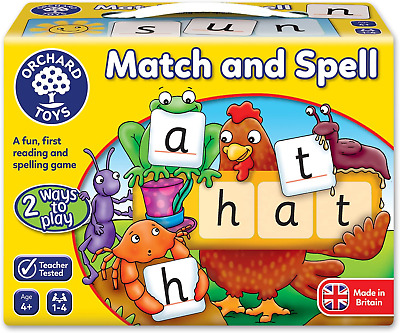 Orchard Toys Match And Spell Game Multicoloured  • 9.70£