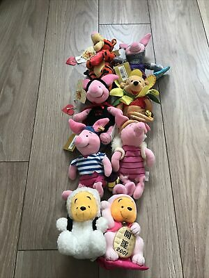 Winnie The Pooh And Friends Soft Toy Bundle • 10£