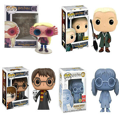 Funko Pop!Harry Potter Draco Malfoy Moaning Myrtle Exclusive Action Figure Toys • 12.99£