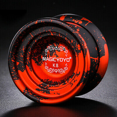K8 Unresponsive Professional Aluminum Alloy Yo-yo Ball With Durable String - Red • 13.14£