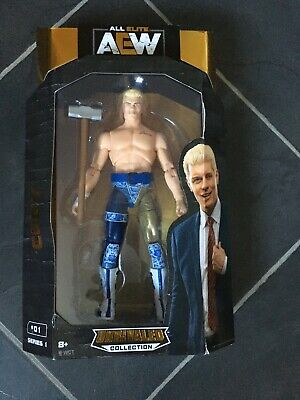 CODY RHODES  -  AEW Wrestling Action Figure - Unrivaled Collection - New In Box • 29.99£
