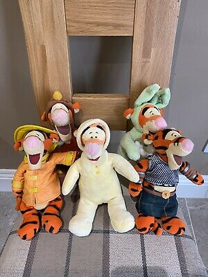 Disney Tigger Soft Toys (5 No - No Tags). • 7.50£