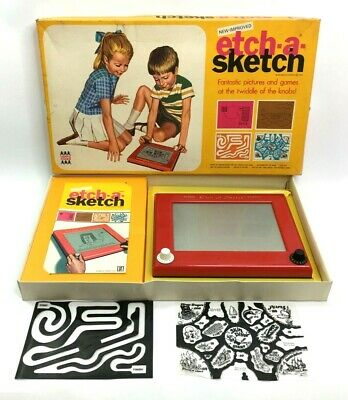Vintage Etch A Sketch By Denys Fisher In Original Box • 23.95£