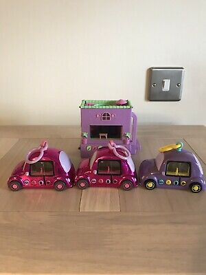 Pixel Chix House And 3 Cars • 9.50£