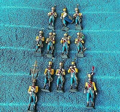 12 X CBG Mignot French Napoleonic Wars Soldiers Military Band Very Rare • 31£