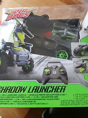 Vehicle Radio Controlled Jeep Air Hogs Shadow Launcher Rc 03677 Brand New • 37£