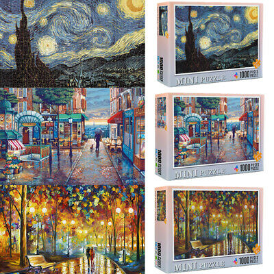 Puzzle Adult 1000 Piece Jigsaw Decompression Home Game Toy Gift Kids Decoration • 8.96£