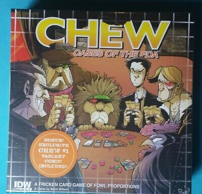 CHEW, Cases Of The FDA . Boardgame. New And Sealed • 10£