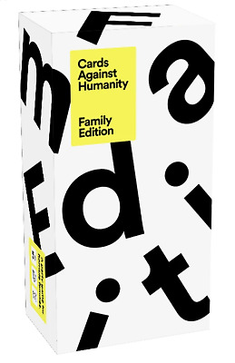 Cards Against Humanity Family Edition Card Game 8 + • 24.90£