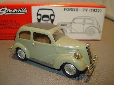 Original Somerville  1937 Ford 8-7y Limited Edition . Excellent. • 95£