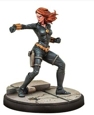 Marvel Crisis Protocol Black Widow Miniature On Sprue With Character Card • 10£