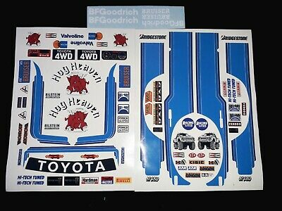 Bruiser Blue 1/10 RC Stickers Decal Sheet Precut Customized Vintage 90s • 14.99£