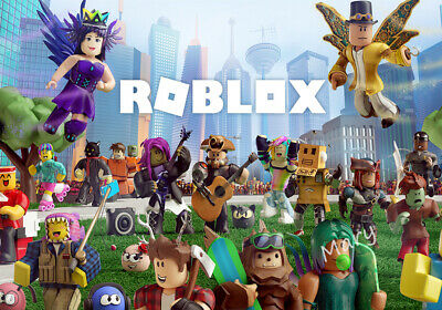Roblox Jigsaw Puzzle Game Toy Kids Birthday Christmas Gifts In Box 200Pcs • 9.99£