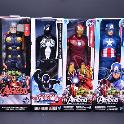 12 Marvel Avengers Iron-man Spiderman Action Figures Super Hero Toys Kids Gifts • 9.98£