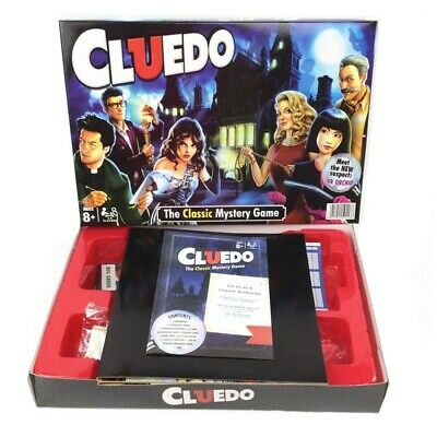 New Cluedo The Classic Mystery Board Game Toys UK HOT SALE!! • 16.39£
