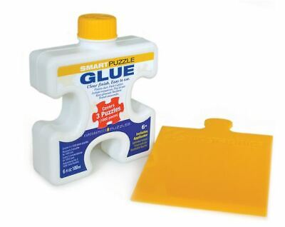 Eurographics SMART PUZZLE GLUE 6oz 180ml With Puzzle Piece Shaped Applicator • 6.99£