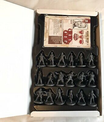 Mantic Walking Dead All Out War Miles Behind Us Kickstarter Limited Edition Oop • 69.99£