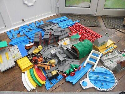 Large Tomy Trackmaster Thomas The Tank Engine Train Set Bundle Job Lot Road Trac • 44.99£