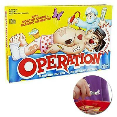 Kids Family Classic Operation Board Game Fun Childrens Xmas Gifts Toys UK Store • 9.98£