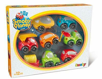 Smoby Vroom Planet Collection Set Of 7 Small Drivers For Babies From 12 Months • 29.99£