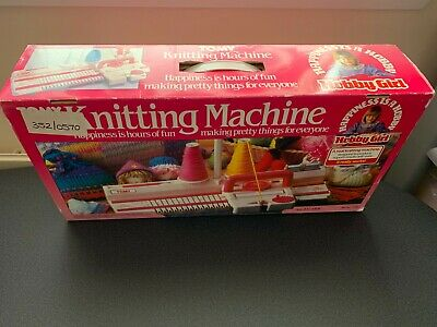 TOMY Hobby Girl Knitting Machine 8+ All Complete Boxed • 20£