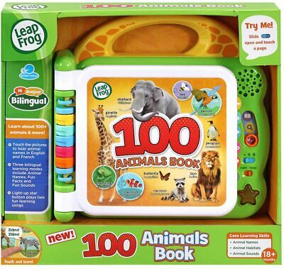 LeapFrog 601503 Learning Friends 100 Words Baby Book Educational And Interactive • 13.99£