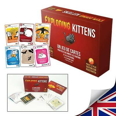 Exploding Kittens Card Game Sealed 24hr Dispatch Brand New • 9.39£
