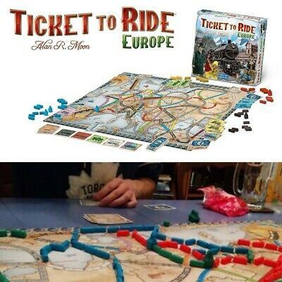 Ticket To Ride: Europe - Days Of Wonder 2-5 Player Board Game -New & Sealed Hot • 21.82£