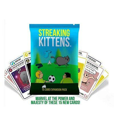 Card Game Streaking Kittens: This Is The Second Expansion Of Exploding Kittens • 6.25£