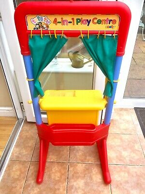 CHILDREN'S LOVELY THEATRE SHOP/DESK/WHITEBOARD Playstation With Storage • 15£