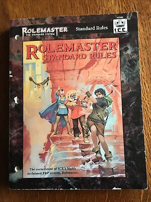 Rolemaster Standard Rules • 10.99£