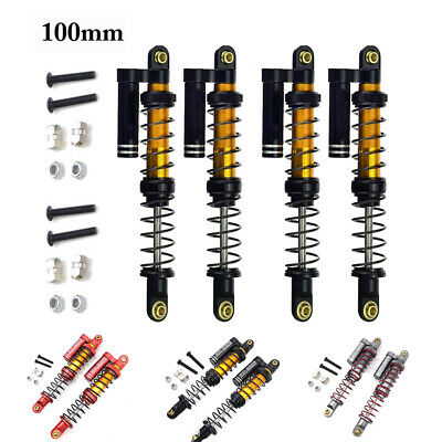 100mm Suspension Shock Absorber Damper For 1/10 Axial SCX10 D90 Jeep Wrangler RC • 21.53£
