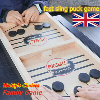 Fast Sling Puck Game Hockey Game Winner Board Table Game Family Game Juego Toy • 18.39£
