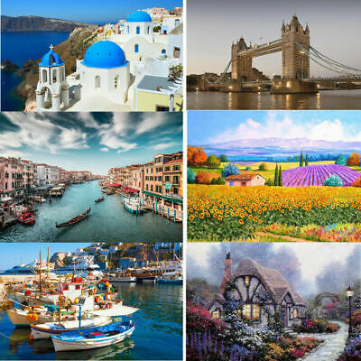 Jigsaw Puzzles 500 Pieces Assembling Picture Landscape Puzzles Toys For Adults • 5.69£