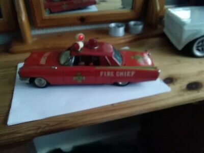 Tin Toy Cadillac Fire Chief • 35£