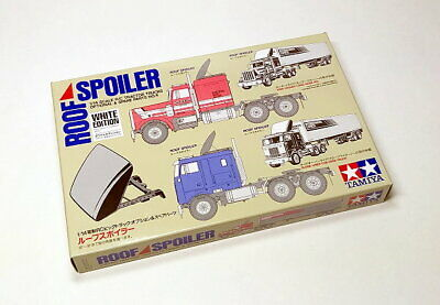 Tamiya RC Model 1/14 R/C Tractor Truck Roof Spoiler White Edition 56546 • 22.90£
