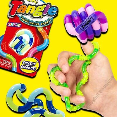 GENUINE Zuru & Tangle Creations Tangle Pets Toy Fidget, Stress, Sensory  • 6.99£